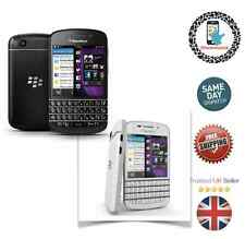 New BlackBerry Q10 - 16GB Black / White Unlocked Smartphone with warranty