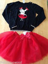 NWT Gymboree Olivia Sweater Tulle Tutu Skirt 2pc Set 10/12 Girls