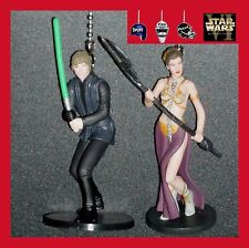 STAR WARS MOVIE FIGURINES FROM THE RETURN OF THE JEDI CEILING FAN/CHAIN PULLS