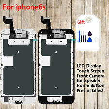 LCD Display+Touch Screen+Home Button+Camera Full Replacement for iphone6 6P 6S