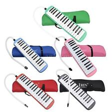32 Piano Keys Melodica for Music Lovers Student with Carrying Bag Blue S8S0