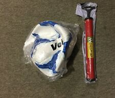 Mexico Voit Ball Size 5 White and Blue Pump Included balon blanco y azul Liga MX
