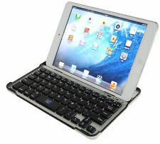 Aluminum Shell Bluetooth Keyboard Dock Case Cover Stand for iPad 2 3 4 Mini Air