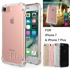 Slim Soft TPU Bumper Shockproof Protective Crystal Clear Case for iPhone 7 7Plus