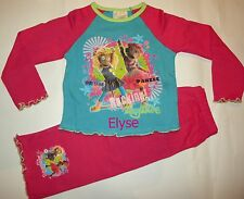 Personalised Zingzillas monkey pink pyjamas age 1 - 4 years with a name