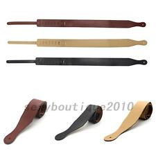 Adjustable PU Leather Soft Leather Thick Strap for Electric Acoustic Guitar Bass
