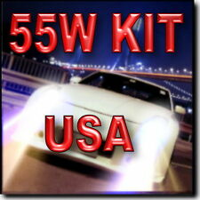55W 9006 XENON HID CONVERSION KIT FOR Fog Light 4300K 6000K 8000K 10000K !