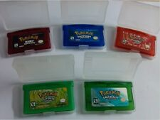 game card for gba ds/dsi mario kart arcoiris firered leafgreen emerald ruby.....