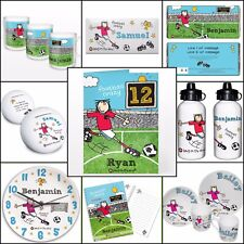 Personalised Gifts, Bang on the Door Football Crazy, Boys, Kids Birthday