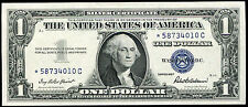 1957 $1 ONE DOLLAR *STAR* SILVER CERTIFICATE CURRENCY NOTE GEM UNCIRCULATED