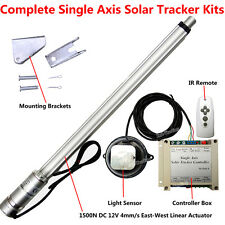 1KW Complete Sunlight Tracking Solar Panel Tracker DIY Kits 12V Sun Track System