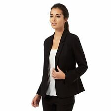 The Collection Petite Womens Black Zip Pocket Suit Jacket From Debenhams