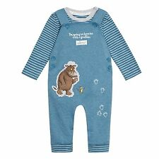 The Gruffalo Baby Boys' Blue 'Gruffalo' Print Dungarees From Debenhams