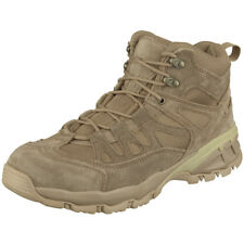 Brandit Outdoor Trail Midcut Boots Mens Suede Leather Army Patrol Footwear Camel