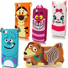 Cartoon Character 3D Silicone Case Rubber Cover For Apple iPhone 7 6 6s/ Plus 5s