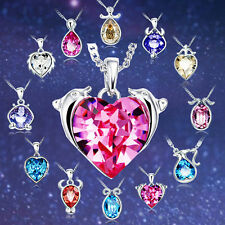 Crystal Pendant of Astrology 12 Zodiac Constellations Colorful Crystal Necklace