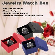 Present Gift Boxes Case For Bangle Jewelry Ring Earrings Wrist Watch Box I5!!