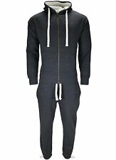 Mens Fleece Hoodie Tracksuit Set Top Gym,Jogging With Bottom Tracksuits