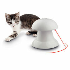Pet Dog Puppy Cat Automatic Interactive Dart Laser Light Exercise Teaser Fun Toy