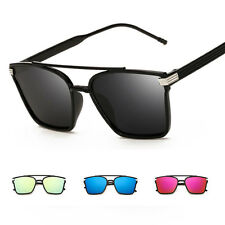 Womens Fashion Vintage Retro Mirrored Aviator Sunglasses Eyewear Shades Glasses