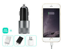 Dual USB Car Charger 2 Port Adapter For Smart Mobile Cell Phone Universal 2017