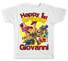 Personalized Toy Story Birthday T-Shirt