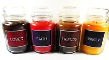 Goose Creek Scented Jar Candles 24 oz Large 120 - 150 Burn Hrs. Made in USA