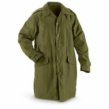 Danish Army OD Green Coat ( Choice of Size ) Military Surplus
