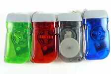Hand Pressing LED Flashlight No Batteries Needed: Red,Green,Blue,Black