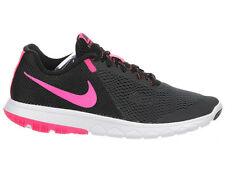 NEW WOMENS NIKE FLEX EXPERIENCE RUN 5 RUNNING SHOES TRAINERS ANTHRACITE / BLACK