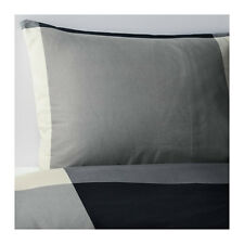 Amazing Ikea BRUNKRISSLA Duvet cover and pillowcase(s), black, gray