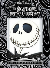 The Nightmare Before Christmas (DVD, 2008, 2-Disc Set, Collectors Edition)