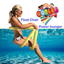 Power Lounger Floating Pool Noodle Water Chair Comfortable and Relaxing