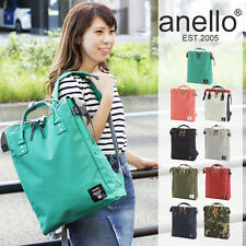 ANELLO Japan Polyester Canvas Handle Backpack Campus Rucksack Tote Bag A4 OK