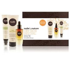 Nude by Nature Skin care pack Choose Oily Control or Dry Revival 3 piece set