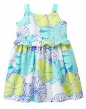 NWT Gymboree TIDE POOL Flower Dress 12 18mo 2T 3T 4T 5T Girl Toddler