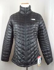 New The North Face Women's ThermoBall Full Zip Jacket TNF Black color NWT
