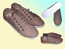 modern Ladies Shoes Shoes Casual Shoes Trainers Size 37 & 38 brown