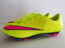 Nike Mercurial Veloce II FG Mens Soccer Cleat NEW 651618-760 Volt Pink size 7