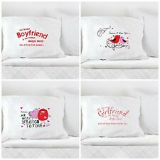 Personalised Name Pillow Case Perfect For Wedding Couple Present Gift Valentine
