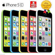 "Apple iPhone 5C-8GB 16GB 32GB GSM ""Factory Unlocked"" Smartphone Cell Phone GOON"