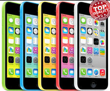 "Apple iPhone 5C-8GB 16GB 32GB GSM ""Factory Unlocked"" Smartphone Cell Phone GO S+"