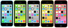 "Apple iPhone 5C - 8GB 16GB 32GB - GSM ""Factory Unlocked"" Smartphone CellPhone GO"