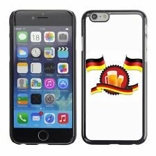Hard Phone Case Cover Skin For Apple iPhone German Flags And Beer