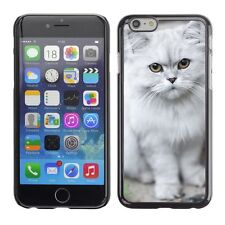 Hard Phone Case Cover Skin For Apple iPhone Cat Kitty Animal Pattern