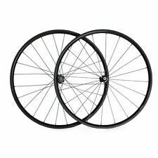3K Ship From UK 24mm Tubular Carbon Wheels Racing Bicycle Road Bike Wheelset