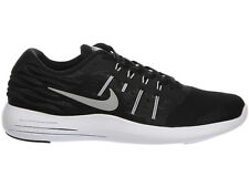 NEW MENS NIKE LUNARSTELOS RUNNING SHOES TRAINERS BLACK / ANTHRACITE / WHITE / ME