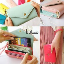 Hot Multifunction Women Clutch Bag Cell Phone Pockets Coins Case Casual Purse