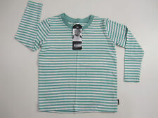 Bonds Baby Childrens Long Sleeve Tee Top sizes 3 4 5 6 7 Colour Teal White