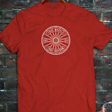 BICYCLE TRUE WHEELS BIKE CYCLING ROAD MOUNTAIN Mens Red T-Shirt